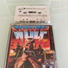Videojuegos y Consolas: MSX - OPERATION WOLF (TAITO) - ESTUCHE XL - CARGA VERIFICADA. Lote 281773343
