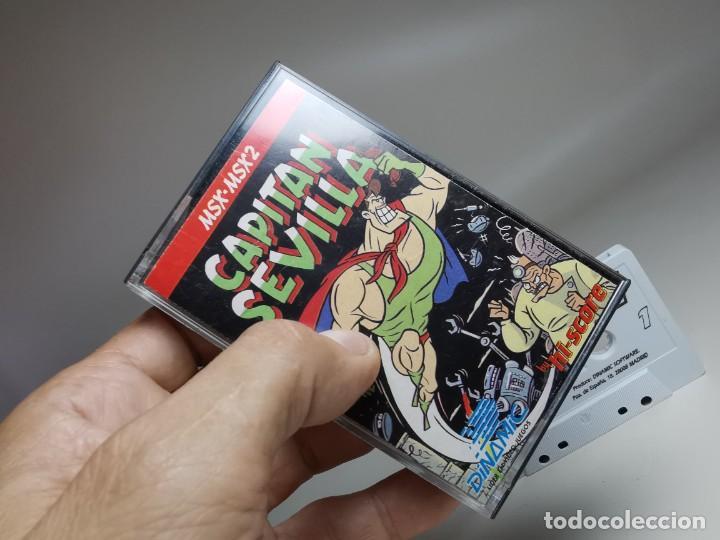 Videojuegos y Consolas: JUEGO ORIGINAL MSX-MSX2 --- CAPITAN SEVILLA - Foto 2 - 282207993