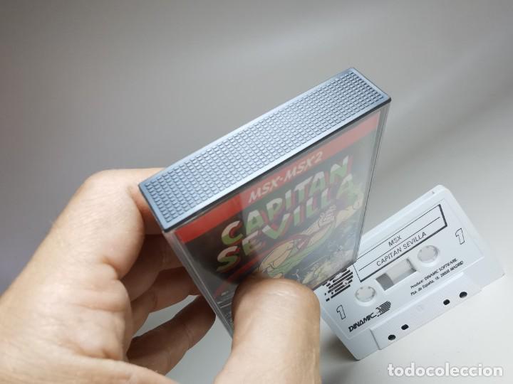 Videojuegos y Consolas: JUEGO ORIGINAL MSX-MSX2 --- CAPITAN SEVILLA - Foto 3 - 282207993