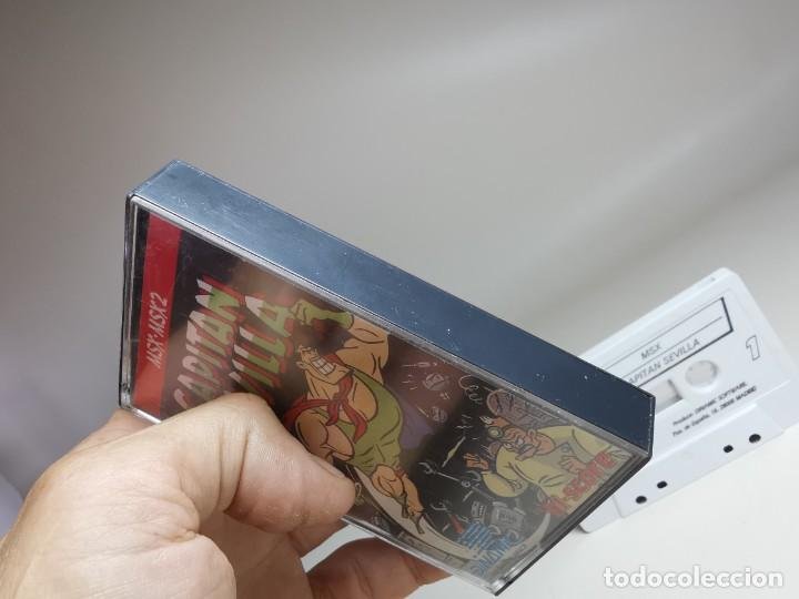 Videojuegos y Consolas: JUEGO ORIGINAL MSX-MSX2 --- CAPITAN SEVILLA - Foto 4 - 282207993
