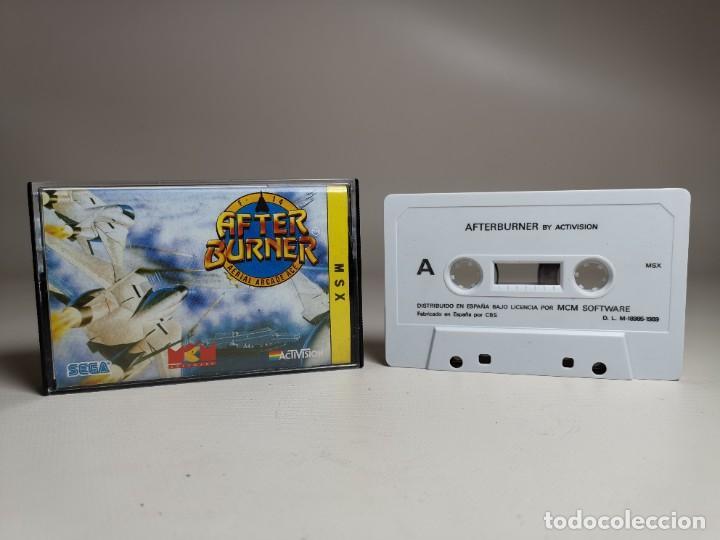 Videojuegos y Consolas: JUEGO ORIGINAL MSX-MSX2 --- AFTER BURNER - Foto 2 - 282208098