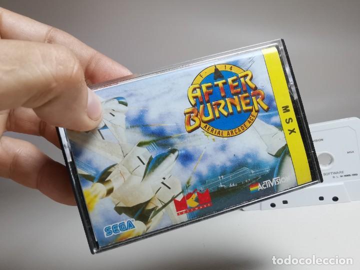 Videojuegos y Consolas: JUEGO ORIGINAL MSX-MSX2 --- AFTER BURNER - Foto 3 - 282208098