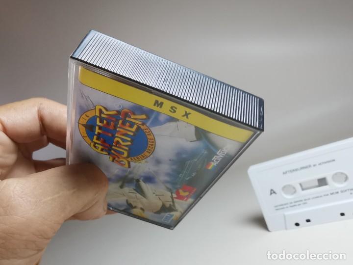 Videojuegos y Consolas: JUEGO ORIGINAL MSX-MSX2 --- AFTER BURNER - Foto 5 - 282208098