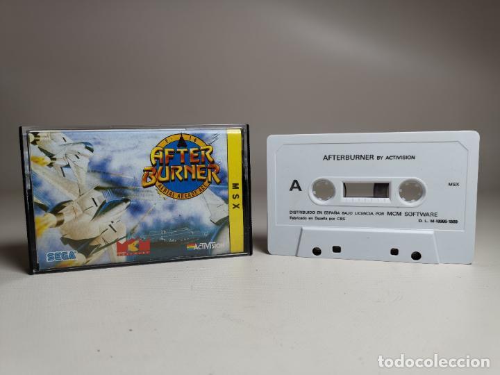 JUEGO ORIGINAL MSX-MSX2 --- AFTER BURNER (Juguetes - Videojuegos y Consolas - Msx)
