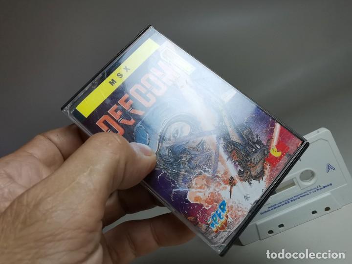 Videojuegos y Consolas: JUEGO ORIGINAL MSX-MSX2 --- DEFCOM 1 - Foto 3 - 282208218