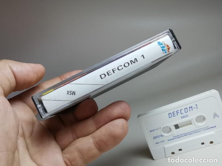 Videojuegos y Consolas: JUEGO ORIGINAL MSX-MSX2 --- DEFCOM 1 - Foto 7 - 282208218