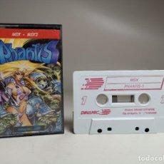 Videojuegos y Consolas: JUEGO ORIGINAL MSX-MSX2 --- PHANTIS. Lote 282208598