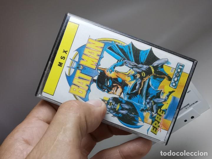 Videojuegos y Consolas: JUEGO ORIGINAL MSX-MSX2 ---BAT-MAN - Foto 2 - 282208668