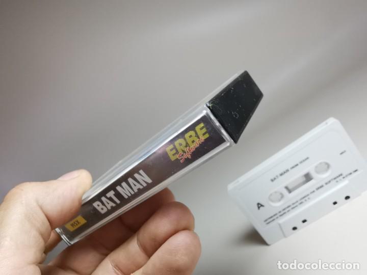 Videojuegos y Consolas: JUEGO ORIGINAL MSX-MSX2 ---BAT-MAN - Foto 5 - 282208668