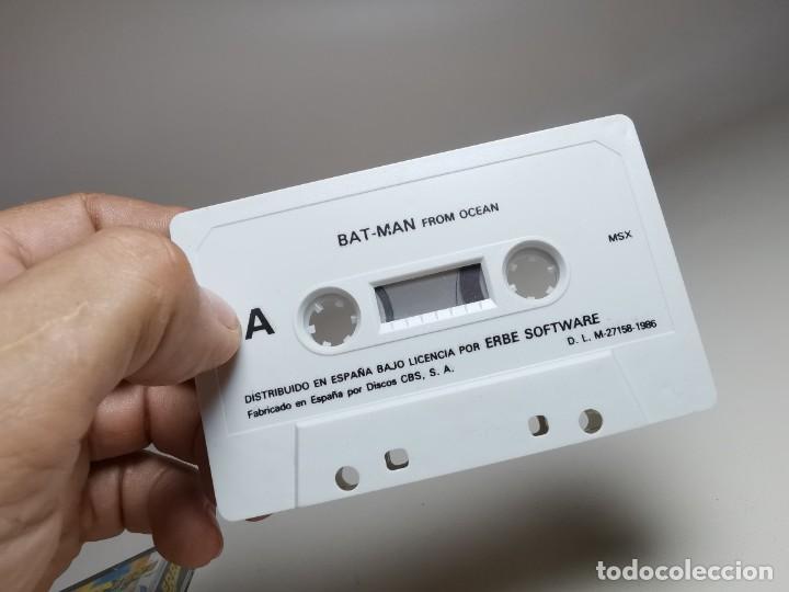 Videojuegos y Consolas: JUEGO ORIGINAL MSX-MSX2 ---BAT-MAN - Foto 8 - 282208668