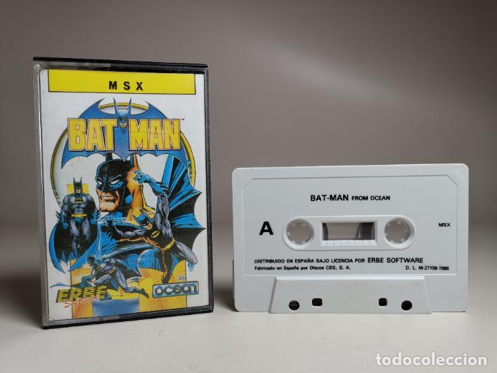 JUEGO ORIGINAL MSX-MSX2 ---BAT-MAN (Juguetes - Videojuegos y Consolas - Msx)