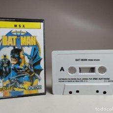 Videojuegos y Consolas: JUEGO ORIGINAL MSX-MSX2 ---BAT-MAN. Lote 282208668