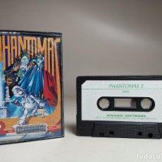 Videojuegos y Consolas: JUEGO ORIGINAL MSX-MSX2 ---PHANTOMAS 2. Lote 282208753
