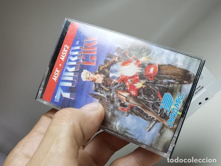 Videojuegos y Consolas: JUEGO ORIGINAL MSX-MSX2 ---TURBO GIRL - Foto 4 - 282208903