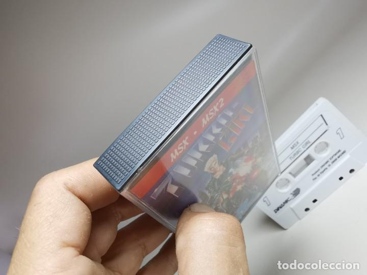 Videojuegos y Consolas: JUEGO ORIGINAL MSX-MSX2 ---TURBO GIRL - Foto 5 - 282208903