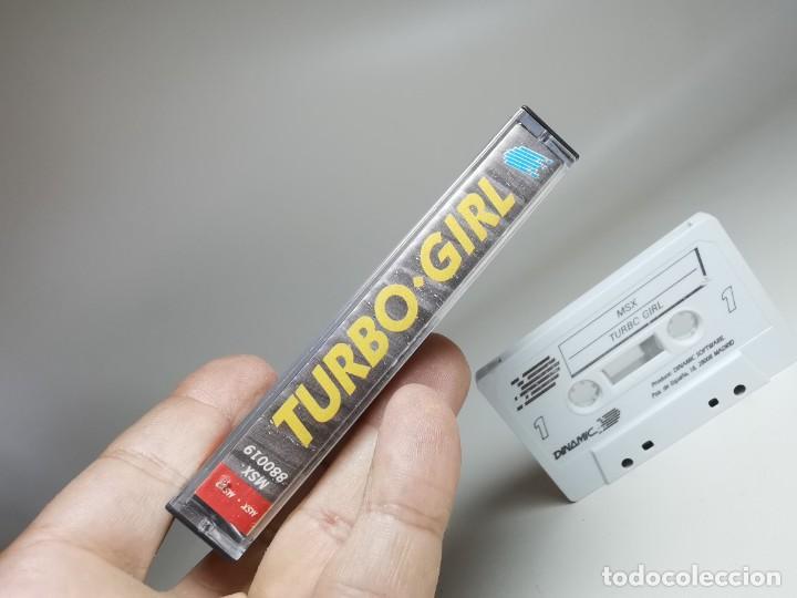 Videojuegos y Consolas: JUEGO ORIGINAL MSX-MSX2 ---TURBO GIRL - Foto 8 - 282208903