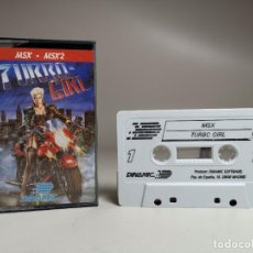 Videojuegos y Consolas: JUEGO ORIGINAL MSX-MSX2 ---TURBO GIRL. Lote 282208903