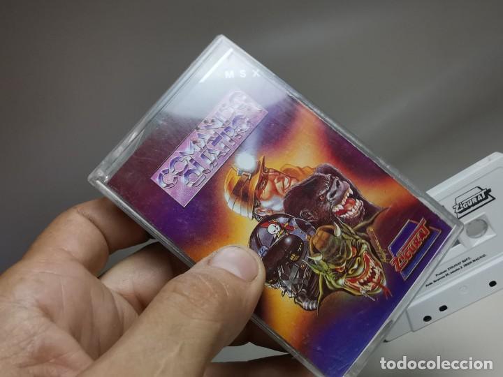 Videojuegos y Consolas: JUEGO ORIGINAL MSX-MSX2 ---COMANDO QUATRO - Foto 3 - 282209148