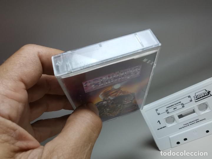 Videojuegos y Consolas: JUEGO ORIGINAL MSX-MSX2 ---COMANDO QUATRO - Foto 5 - 282209148