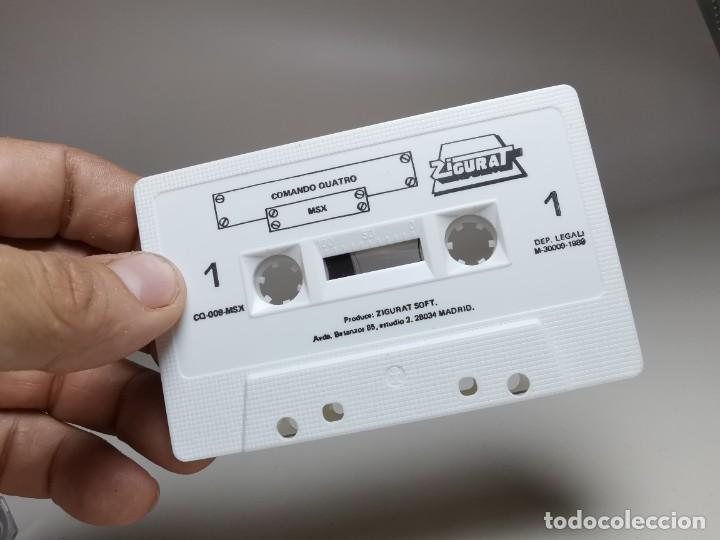 Videojuegos y Consolas: JUEGO ORIGINAL MSX-MSX2 ---COMANDO QUATRO - Foto 10 - 282209148