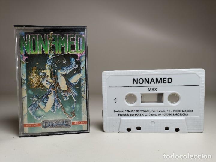 Videojuegos y Consolas: JUEGO ORIGINAL MSX-MSX2 ---NONAMED - Foto 4 - 282209273