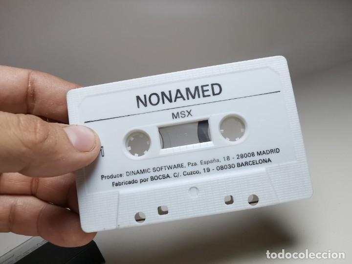 Videojuegos y Consolas: JUEGO ORIGINAL MSX-MSX2 ---NONAMED - Foto 12 - 282209273