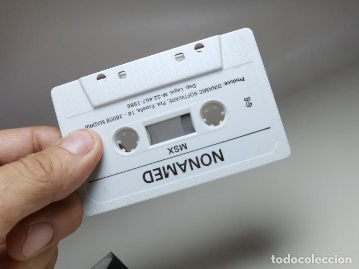 Videojuegos y Consolas: JUEGO ORIGINAL MSX-MSX2 ---NONAMED - Foto 15 - 282209273