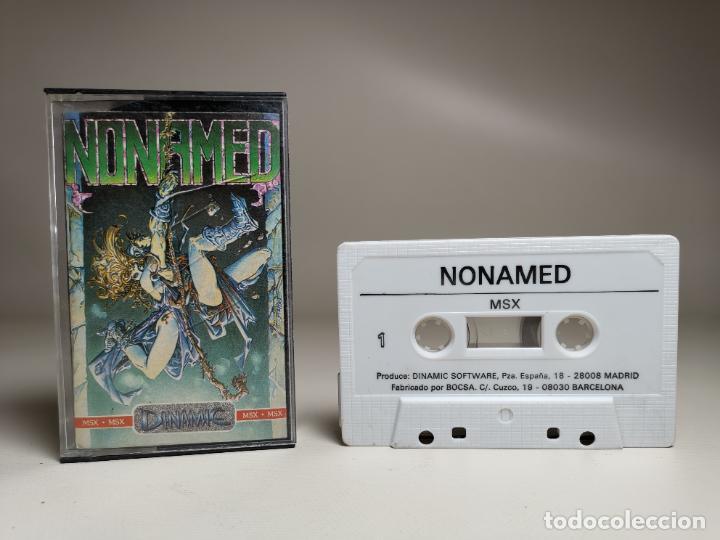 JUEGO ORIGINAL MSX-MSX2 ---NONAMED (Juguetes - Videojuegos y Consolas - Msx)