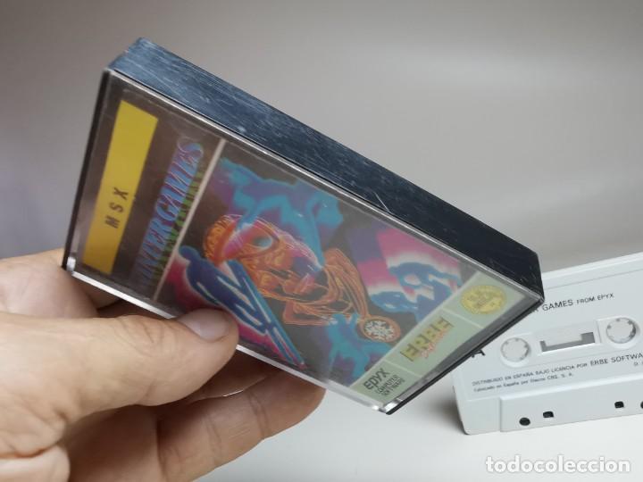 Videojuegos y Consolas: JUEGO ORIGINAL MSX-MSX2 ---WINTER GAMES - Foto 5 - 282209573