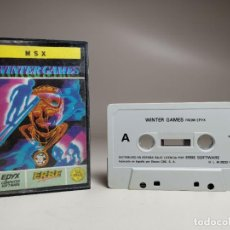 Videojuegos y Consolas: JUEGO ORIGINAL MSX-MSX2 ---WINTER GAMES. Lote 282209573