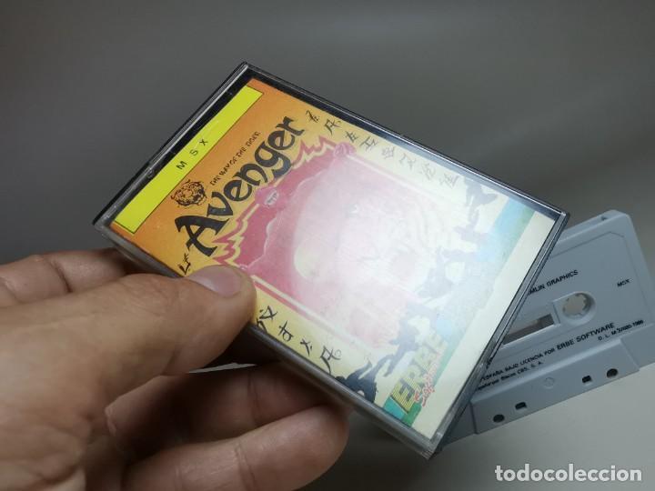 Videojuegos y Consolas: JUEGO ORIGINAL MSX-MSX2 ---AVENGER - Foto 3 - 282209753