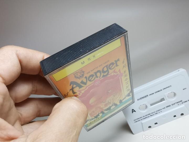 Videojuegos y Consolas: JUEGO ORIGINAL MSX-MSX2 ---AVENGER - Foto 4 - 282209753