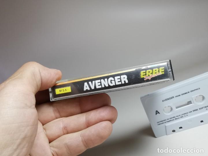 Videojuegos y Consolas: JUEGO ORIGINAL MSX-MSX2 ---AVENGER - Foto 7 - 282209753
