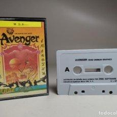Videojuegos y Consolas: JUEGO ORIGINAL MSX-MSX2 ---AVENGER. Lote 282209753