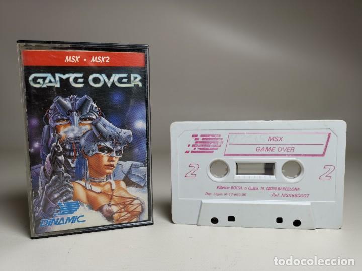 Videojuegos y Consolas: JUEGO ORIGINAL MSX-MSX2 ---GAME OVER - Foto 2 - 282209898