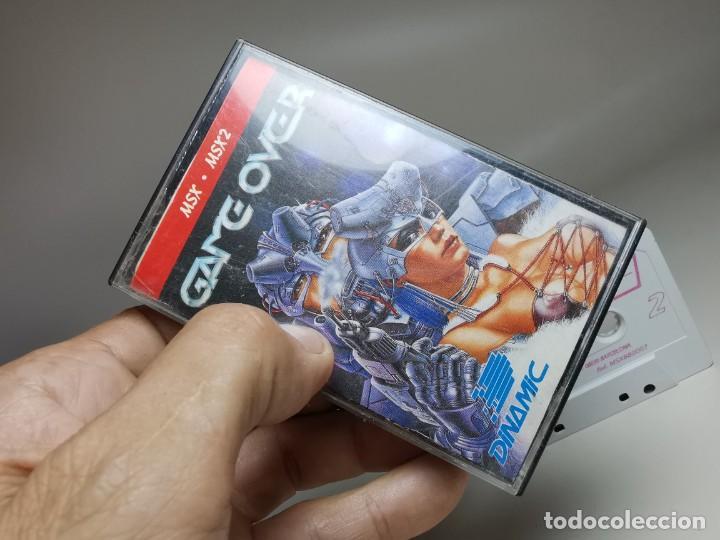 Videojuegos y Consolas: JUEGO ORIGINAL MSX-MSX2 ---GAME OVER - Foto 3 - 282209898