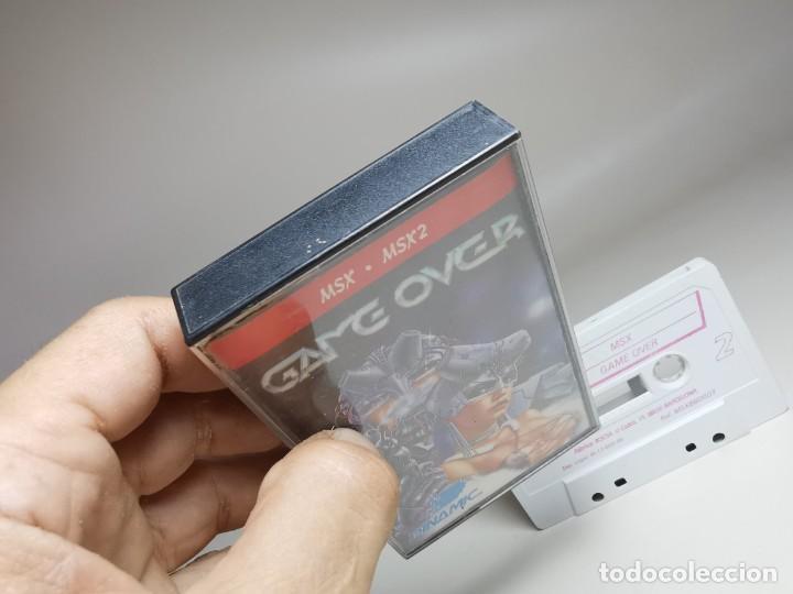 Videojuegos y Consolas: JUEGO ORIGINAL MSX-MSX2 ---GAME OVER - Foto 4 - 282209898