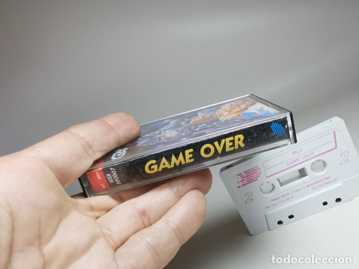 Videojuegos y Consolas: JUEGO ORIGINAL MSX-MSX2 ---GAME OVER - Foto 7 - 282209898
