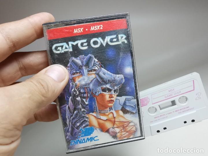 Videojuegos y Consolas: JUEGO ORIGINAL MSX-MSX2 ---GAME OVER - Foto 8 - 282209898
