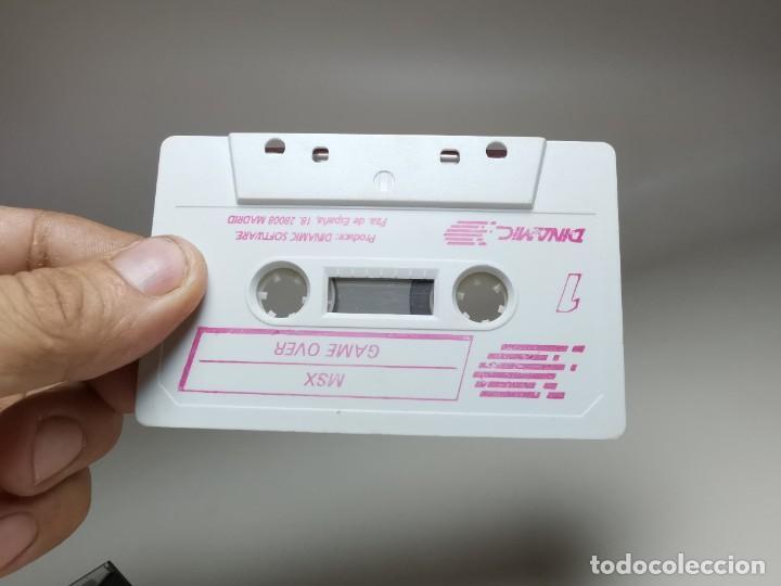 Videojuegos y Consolas: JUEGO ORIGINAL MSX-MSX2 ---GAME OVER - Foto 13 - 282209898