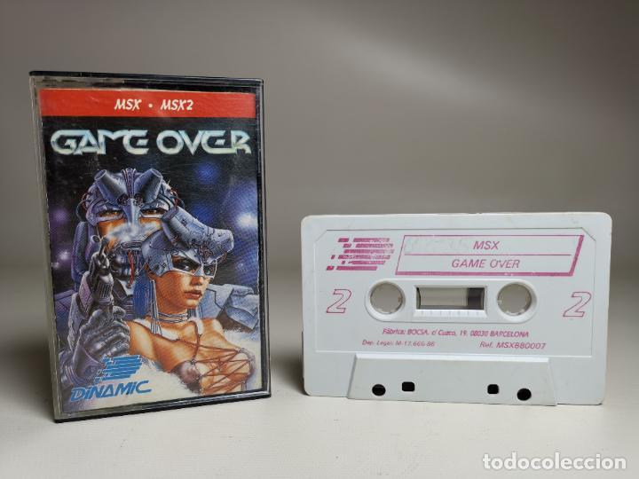 JUEGO ORIGINAL MSX-MSX2 ---GAME OVER (Juguetes - Videojuegos y Consolas - Msx)