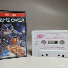 Videojuegos y Consolas: JUEGO ORIGINAL MSX-MSX2 ---GAME OVER. Lote 282209898