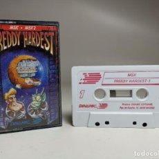 Videojuegos y Consolas: JUEGO ORIGINAL MSX-MSX2 ---FREDDY HARDEST. Lote 282210123