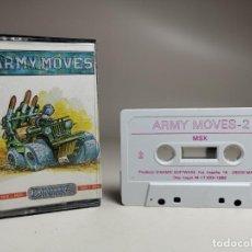 Videojuegos y Consolas: JUEGO ORIGINAL MSX-MSX2 ---ARMY MOVES. Lote 282210248