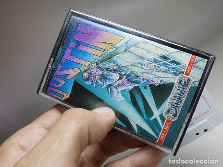 Videojuegos y Consolas: JUEGO ORIGINAL MSX-MSX2 ---DUSTIN - Foto 3 - 282210323
