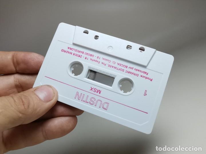 Videojuegos y Consolas: JUEGO ORIGINAL MSX-MSX2 ---DUSTIN - Foto 11 - 282210323