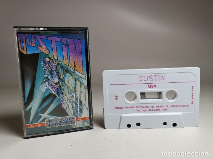 JUEGO ORIGINAL MSX-MSX2 ---DUSTIN (Juguetes - Videojuegos y Consolas - Msx)