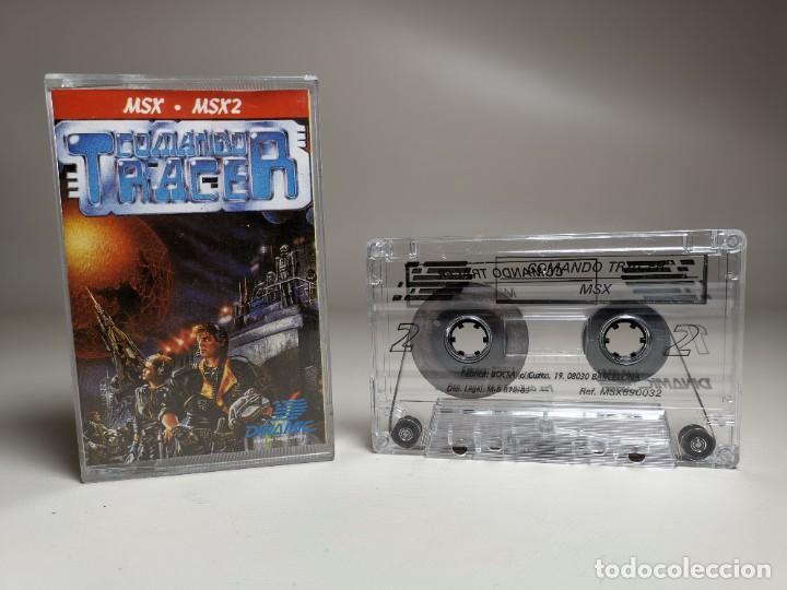 Videojuegos y Consolas: JUEGO ORIGINAL MSX-MSX2 ---COMANDO TRACER - Foto 2 - 282210753