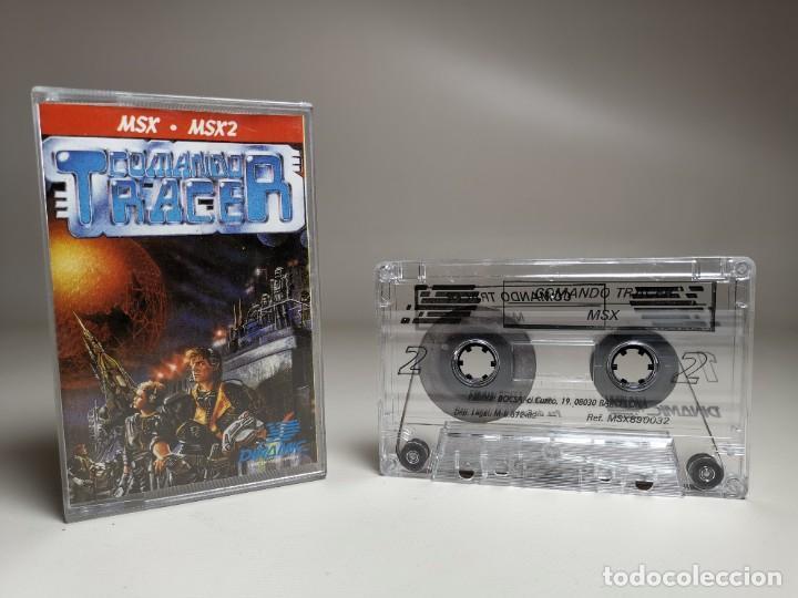 Videojuegos y Consolas: JUEGO ORIGINAL MSX-MSX2 ---COMANDO TRACER - Foto 4 - 282210753