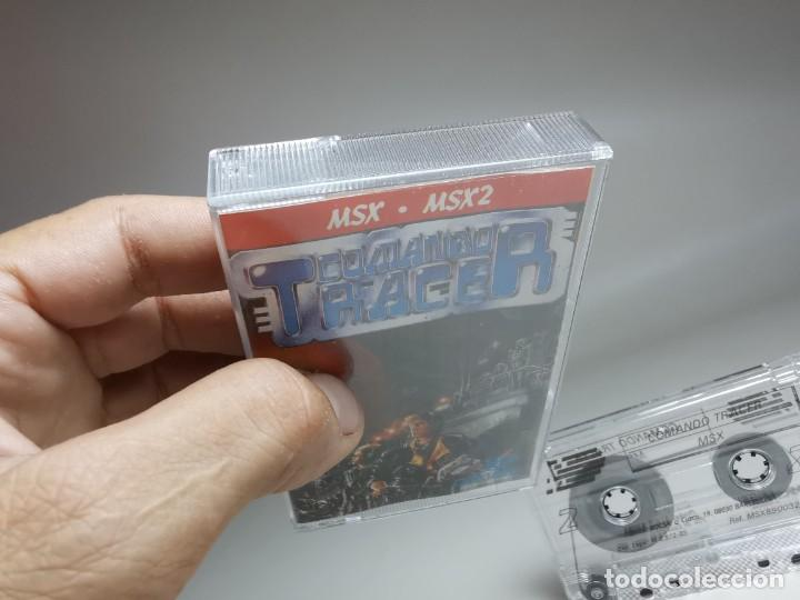 Videojuegos y Consolas: JUEGO ORIGINAL MSX-MSX2 ---COMANDO TRACER - Foto 5 - 282210753
